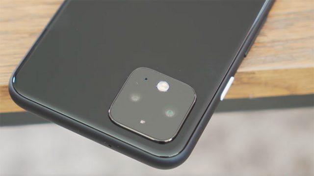 Le module photo des Pixel 4, l'une des grosses nouveautés de cette génération.