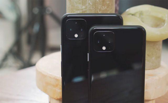 Le Pixel 4 et le Pixel 4 XL côte à côte