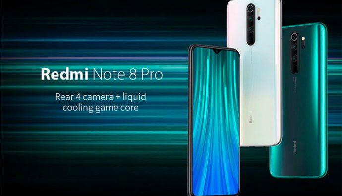 Une photo représentant le Redmi Note 8 Pro