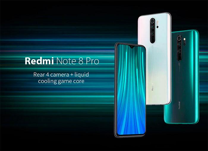 Le Xiaomi Redmi Note 8 Pro à 219 € en version 64 Go