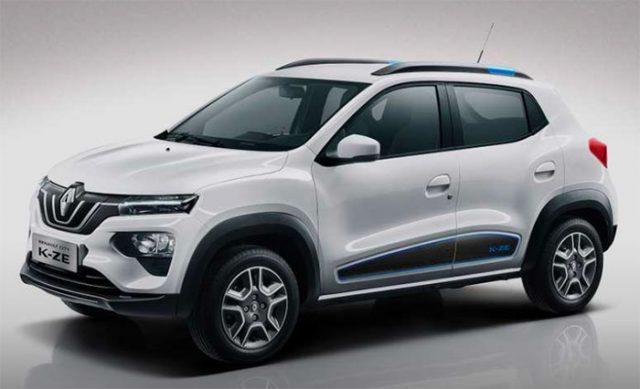 La Renault K-ZE a un look très actuel