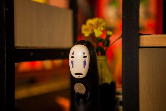 Une figurine issue du Viyage de Chihiro des studios Ghibli