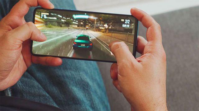 Le OnePlus 7T en pleine action