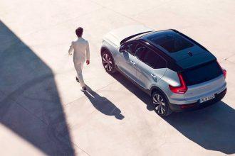 Le X40 Recharge de Volvo, premier SUV électrique de la marque