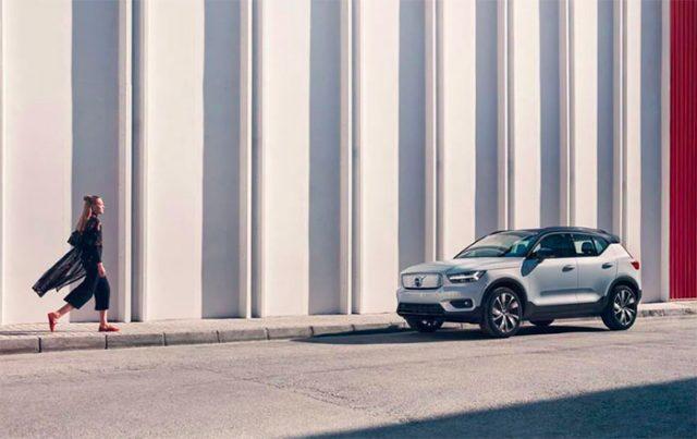 On retrouve l'identité visuelle des Volvo