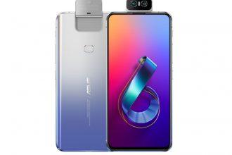 Le ZenFone 6 couleur argent
