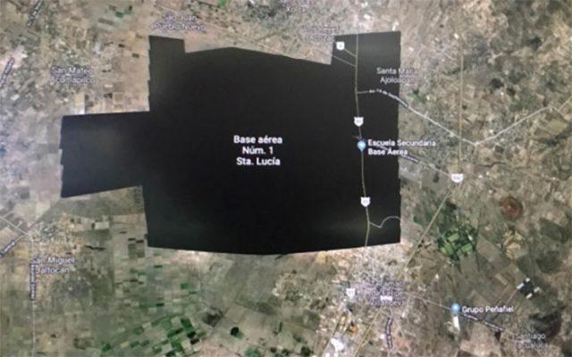 Zone Cachée Google Maps