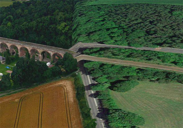 Quand la vue 3D de Google Maps passe à la 2D