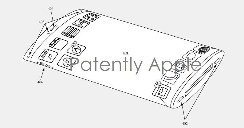Un nouveau brevet déposé par Apple autour d'un iPhone pliable