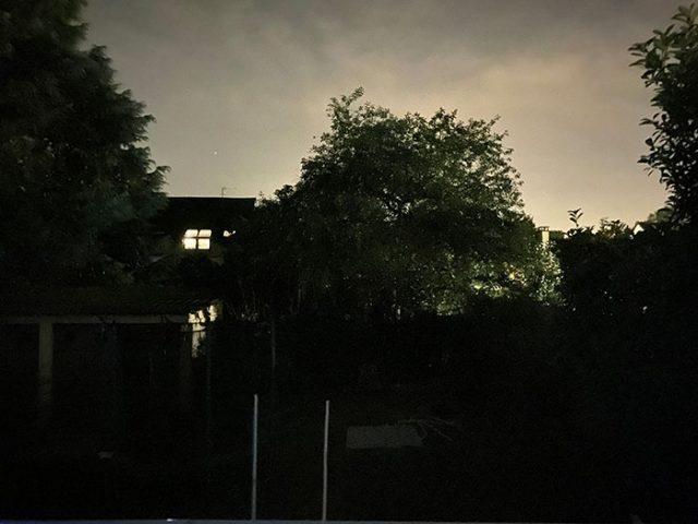 Photo de nuit prise avec l'iPhone 11 Pro Max 4