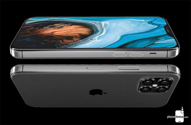 Des bordures plates pour l'iPhone 12 ?