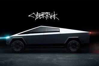 Le Cybertruck de Tesla donne l'impression de venir tout droit d'un film de science fiction