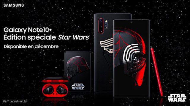 Le Galaxy Note 10+ se décline maintenant en version Star Wars