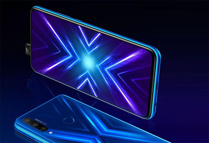 Le Honor 9X officialisé, avec un écran sans encoche et un module photo flexible