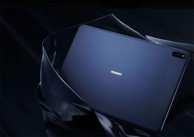 Le Huawei MatePad Pro en version noire