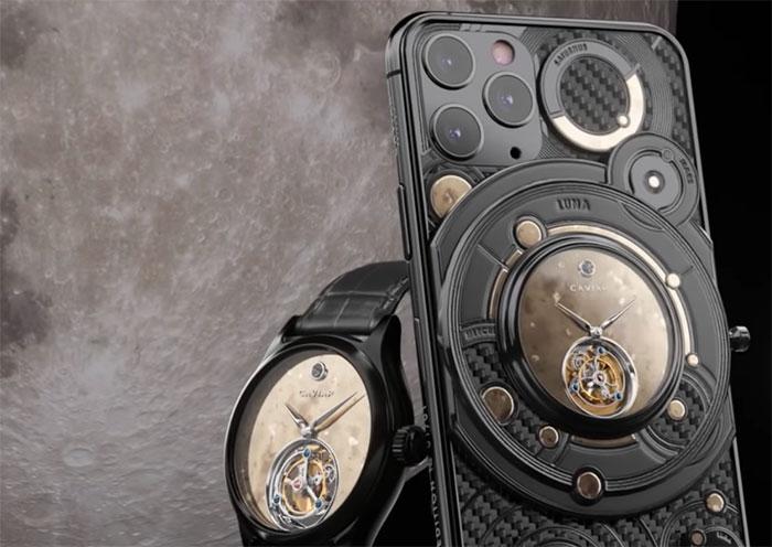 Cavier dévoile un iPhone 11 Pro couvert de diamants et d'or à partir de 70450 dollars