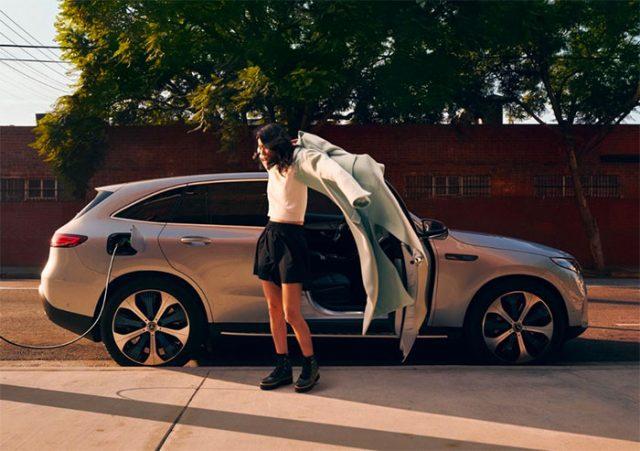 Le Mercedes EQC, le nouveau SUV full électrique de la marque