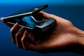 Le Razr pliable de Motorola