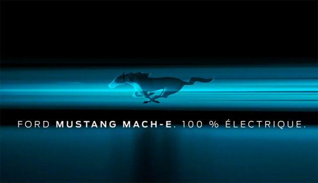 La Mustang Mach-E va bientôt être présentée