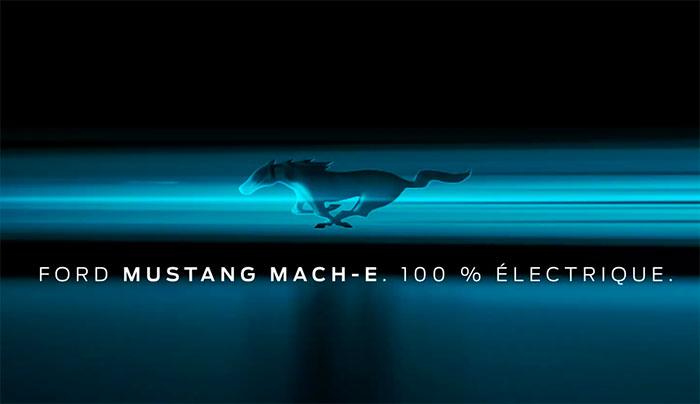Ford dévoile la date de présentation de la Mustang Mach-E, son SUV 100 % électrique