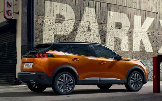 Voici la nouvelle 2008 de Peugeot (image constructeur)