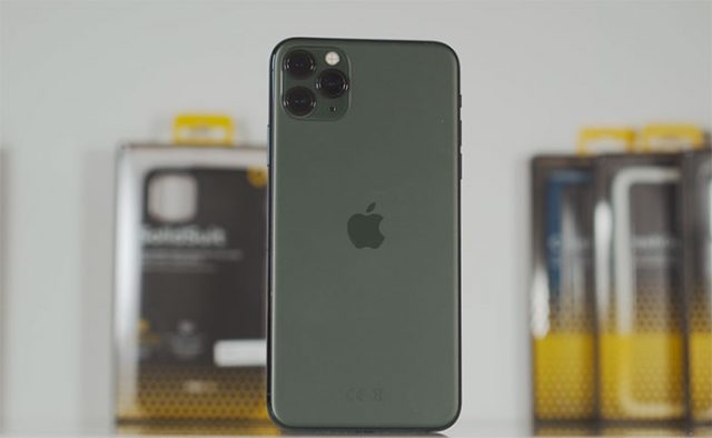 Le module photo triple de l'iPhone 11 Pro Max