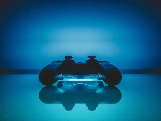 Une manette de la playStation 4