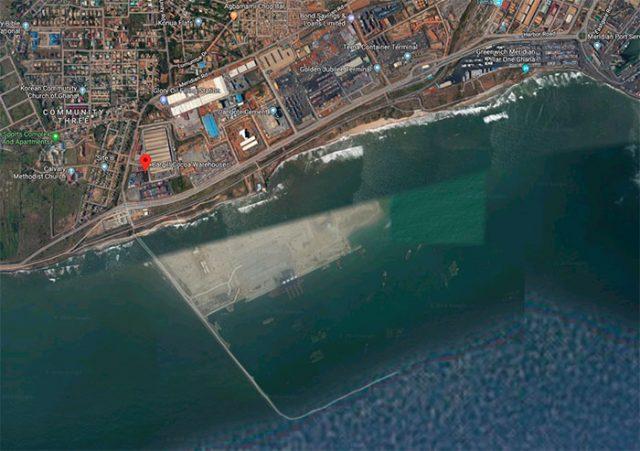 Ce quai trouvé dans Google Maps a une drôle de tête