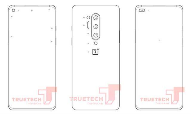 Les OnePlus 8 et OnePlus 8 Pro dévoilés au travers de plusieurs schémas