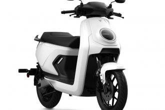 L'un des nouveaux scooters présentés par Niu