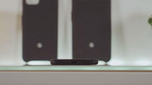 Google a appliqué un revêtement anti-dérapant à la tranche des Pixel 4. Un choix aux résultats mitigés.