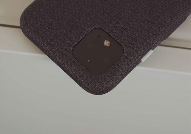 Le module photo arrière des Pixel 4 repose sur deux focales. Il manque l'ultra grand angle