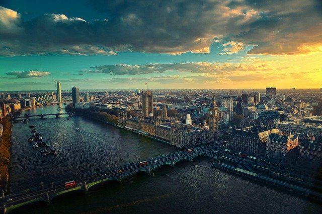 Londres vue du ciel