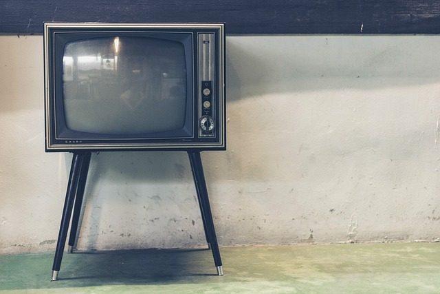 Une télévision pas très jeune