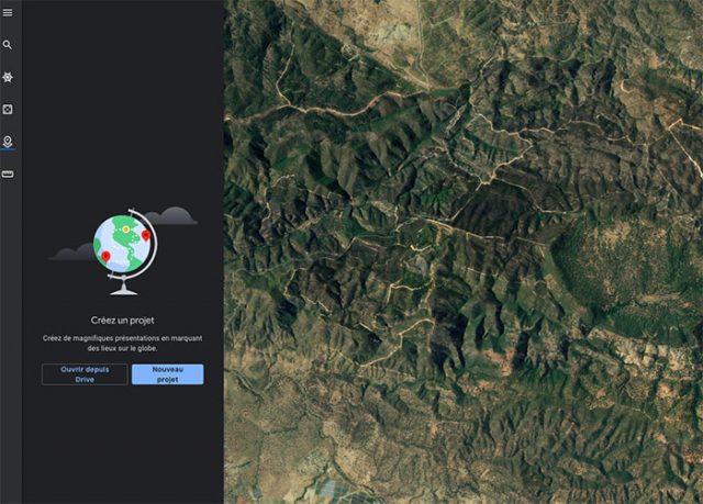 Google Earth permet désormais à tout le monde de créer ses visites guidées interactives