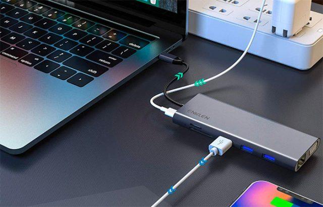 Le hub d'Enklen, spécialement pensé pour les MacBook, MacBook Air et MacBook Pro