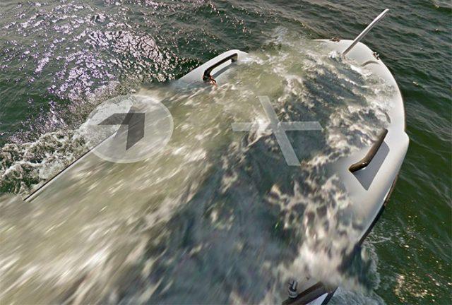 Il semblerait que ce bateau ait comme un petit problème