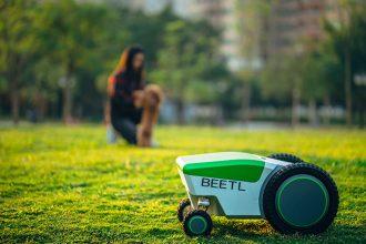 Ce robot a été pensé pour ramasser les crottes de chien