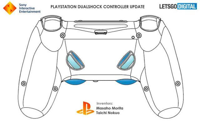 La DualShock 5 aura peut-être droit à deux nouvelles gâchettes