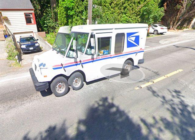 Cette camionnette a une drôle d'allure, vous ne trouvez pas ?