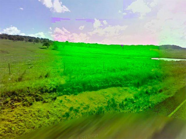 Ce champ a une drôle de couleur, non ?