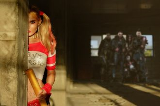 Un cosplay de Harley Quinn