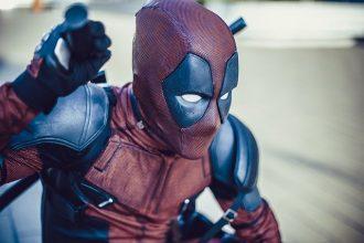 Un cosplay de Deadpool