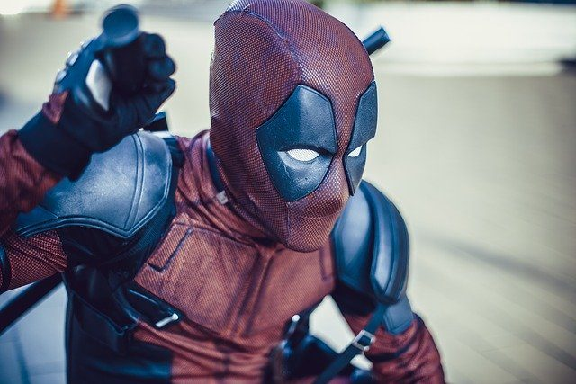 Un cosplay de Deadpool