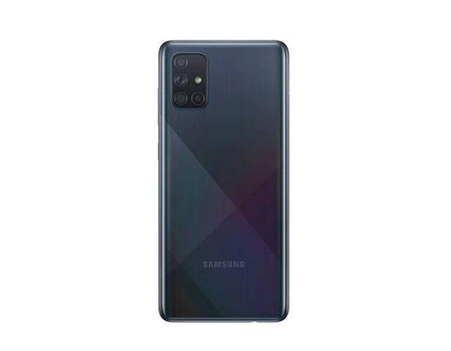 Le dos du Galaxy A71