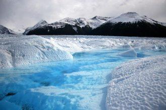 Une photo de l'Arctique