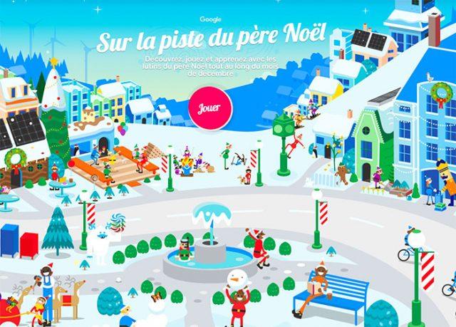 Le Google Santa Tracker est de retour