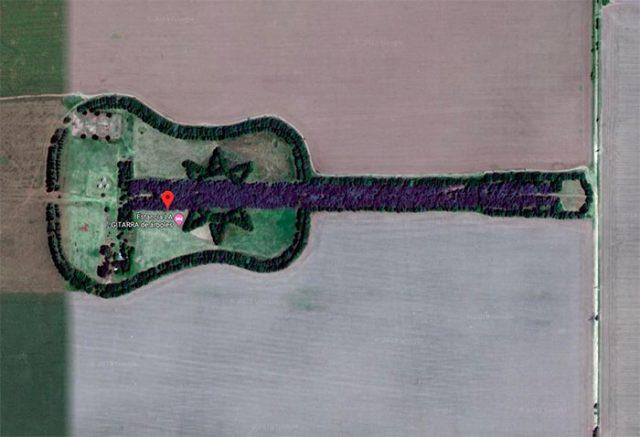 Derrière cette guitare se cache une histoire touchante