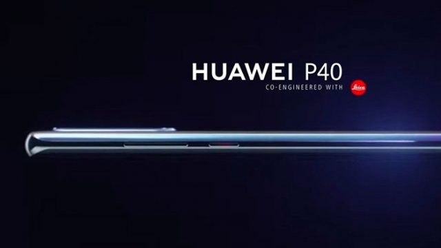 Le Huawei P40 commence son teasing