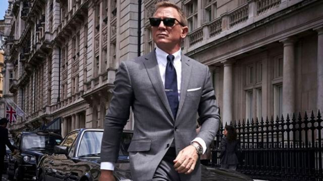 James Bond en pleine action
